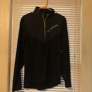 Nike running pullover with dry fit . Size Medium